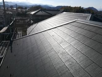 コロニアルグラッサで葺き替えた屋根