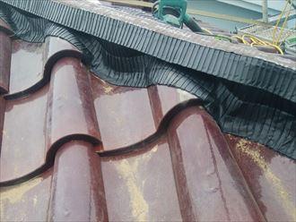 乾式工法化による屋根の軽量化