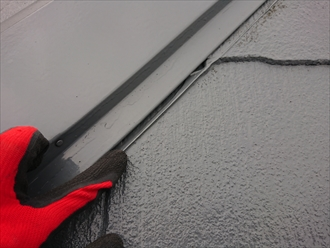 不必要なシーリングは雨漏りを呼ぶ