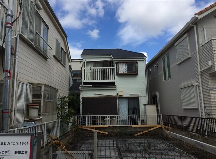 横浜市港南区笹下でスレート屋根の点検