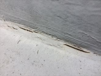 防水層は切れてはいけません