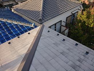 横浜市青葉区あざみ野にて強風が吹いた翌日に訪問業者に指摘された屋根点検調査を行いました