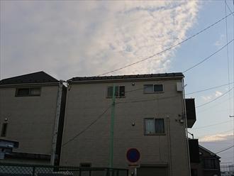 三階建て屋根の劣化は直接見る事が不可能な場合が多い