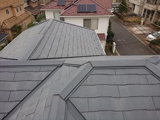複雑な形状をしている屋根