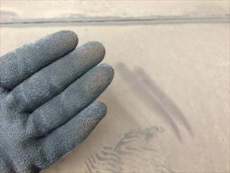 焼き付け塗装の塗膜も劣化します