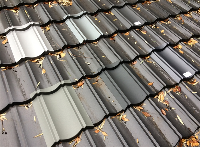屋根材の色選び