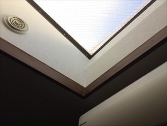 トップライト(天窓)から雨漏り