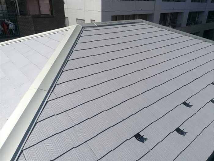 コロニアルの屋根カバー工法
