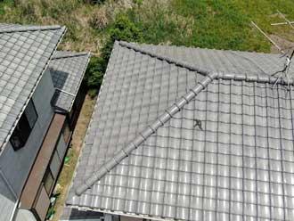 粘土瓦の屋根