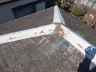 大分劣化した屋根
