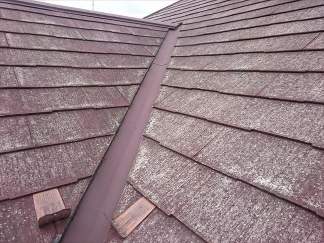 ニチハパミール葺きの屋根