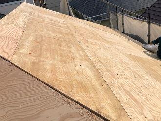 木造住宅の屋根版