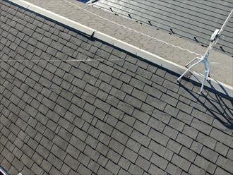 屋根材は状態が良く変わったところはありません