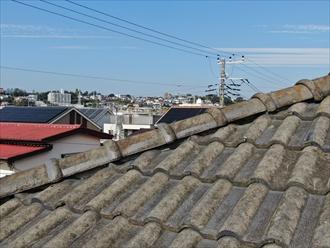 セメント瓦の屋根もメンテナンスが必要になる箇所があります