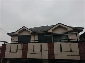 谷ドーマーが二カ所もある意匠性の高い屋根