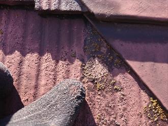 傷んだスレートは塗装では蘇りません