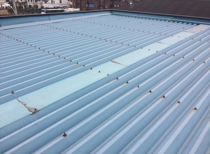 折板屋根のメンテナンス