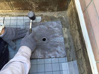 排水部の改修