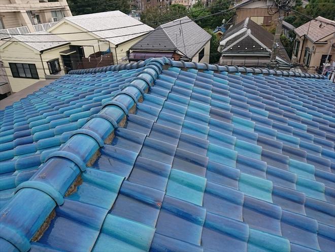 瓦葺き屋根