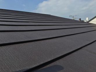 屋根カバー工法の手順 完工