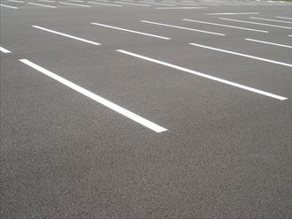 駐車場の水勾配