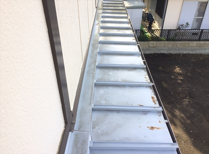 板金屋根の表面に出来る錆に注意