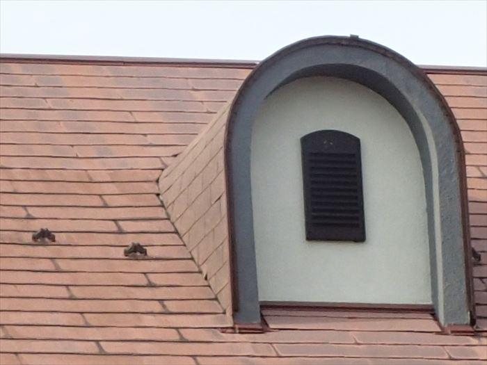 屋根 空気穴