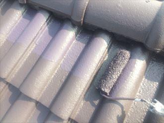 セメント瓦屋根の塗装メンテナンス