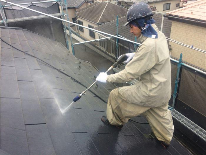 屋根洗浄について