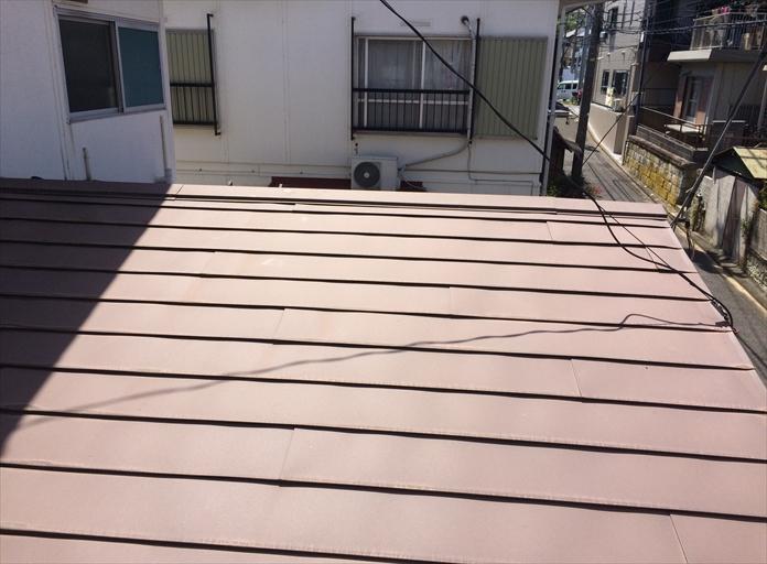 板金屋根の点検