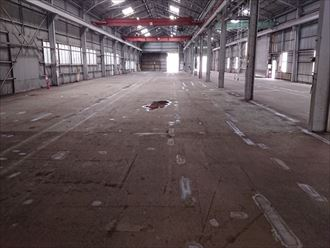 倉庫での雨漏りリスク
