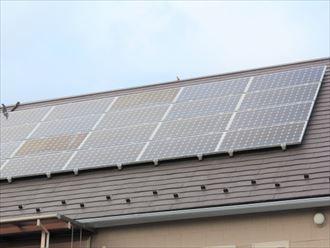 屋根置き型ソーラーパネル