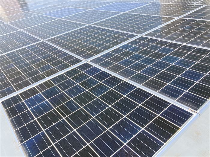ソーラーパネル設置について