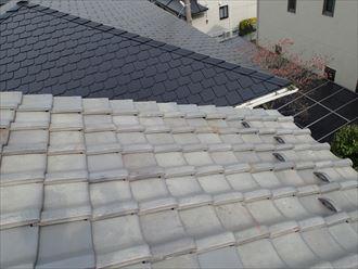 和瓦を使用した瓦屋根