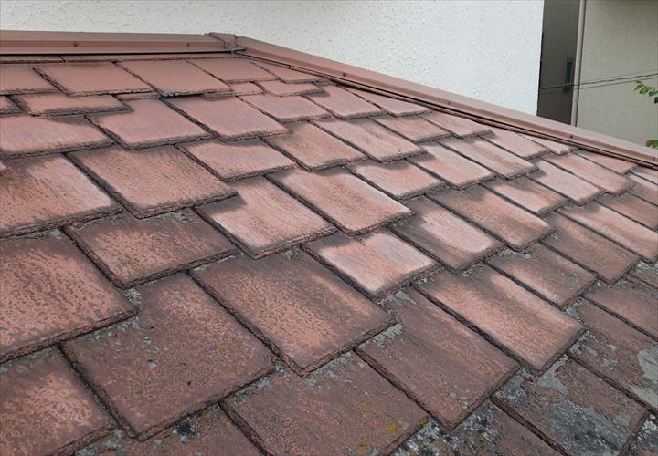 雨漏りの発生したアーバニーの屋根