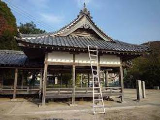 お寺の屋根の形状 入母屋