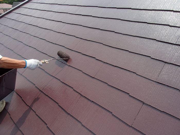 サーモアイ4Fでの屋根塗装