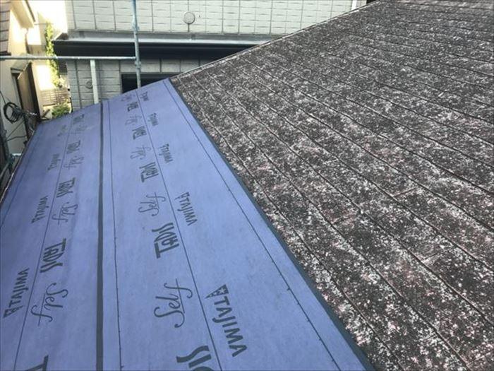 スレート屋根での屋根カバー工法