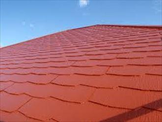 屋根塗装の仕上がり