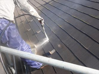 スレート屋根材のメンテナンス