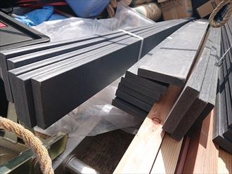 樹脂製の貫板を使用します