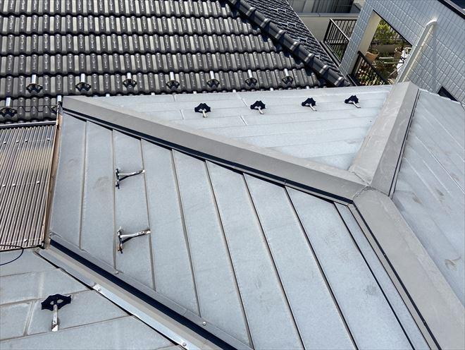 金属屋根調査