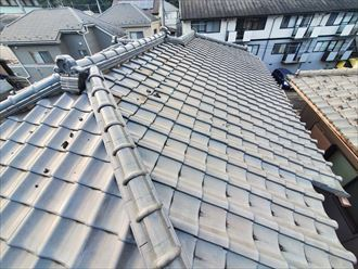 瓦屋根の重量