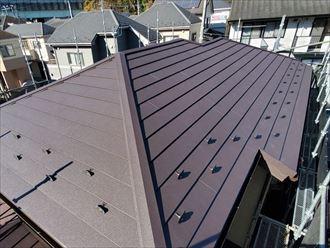 金属屋根への葺き替え