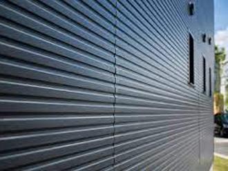 外壁材に金属が使われている