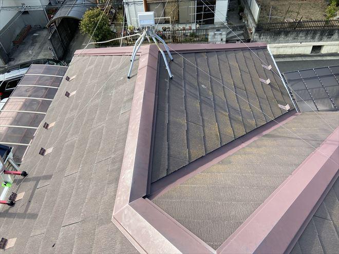 築13年のスレート屋根