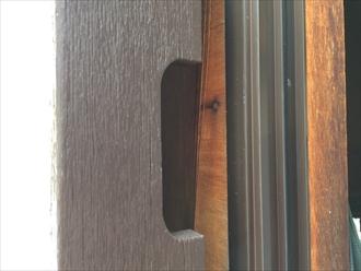 2階の戸袋の裏が怪しい