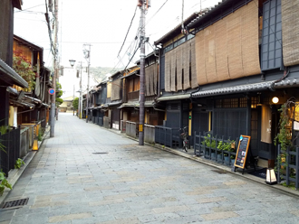 日本の古い町並み