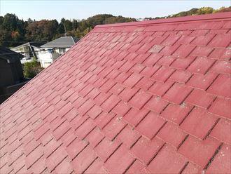 日当たりが良い面のアーバニー屋根
