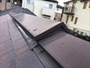 指摘された屋根